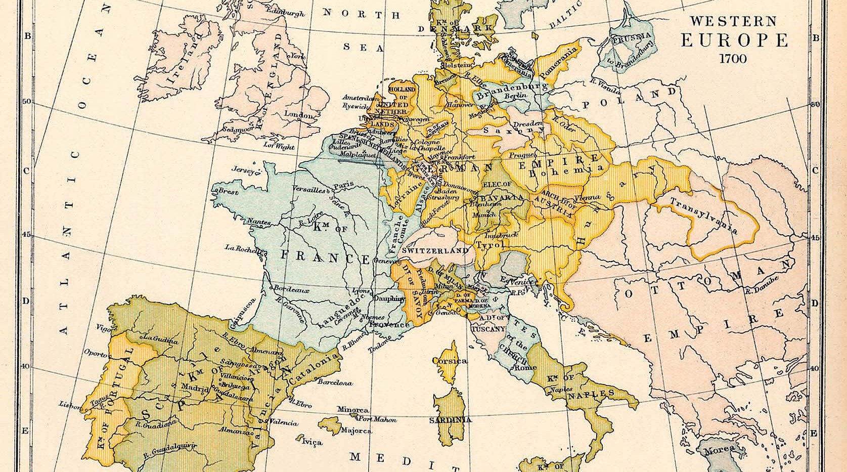 Map Of Texas Vs Europe.Europe Ma Msc In International And World History