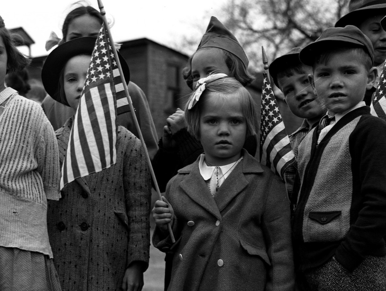 Children on Memorial Day, 1943. Source: Flickr, Public Domain